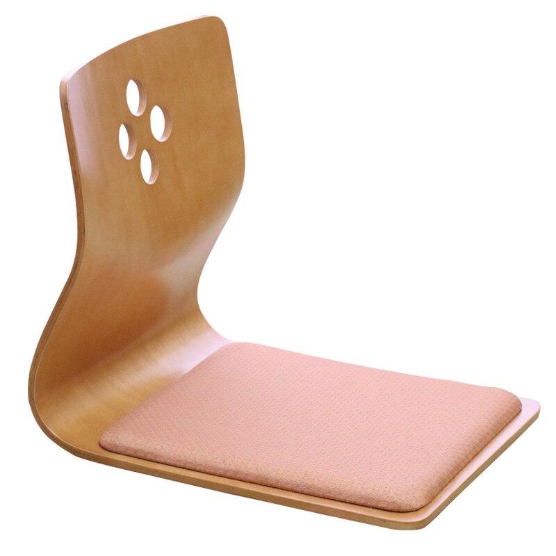 (4pcs/lot)High Quality Japanese Tatami Legless Chair Ash Wood Furniture Asian Living Room Floor Seating Zaisu Chair Wholesale|chair dining|furniture furniture|chair aids - title=