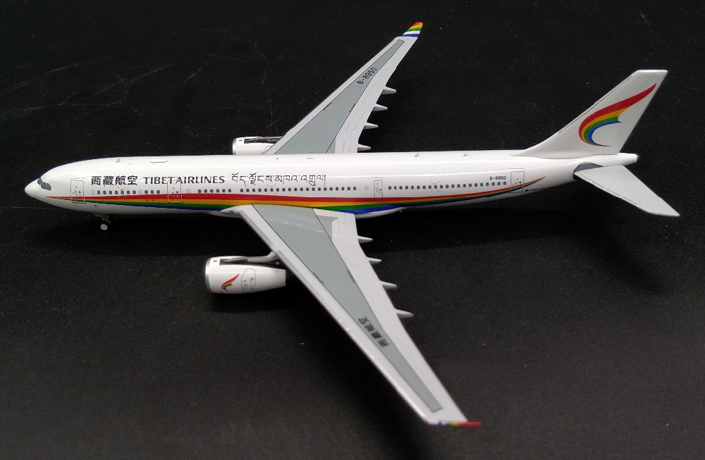 PM 1:400 Tibet Airlines Airbus A330-200 Alloy airliner model B-8950 Collection model Holiday gift игрушечная техника и автомобили 16 airbus 330 a330 airways w air aeroflot a330 airlines