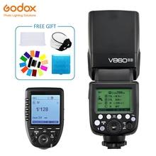 цена Godox Ving V860II V860II-S Speedlite flash 2.4G GN60 TTL+Xpro-S Wireless Trigger Flash for Sony Camera A7 A7S A7R A7 II онлайн в 2017 году