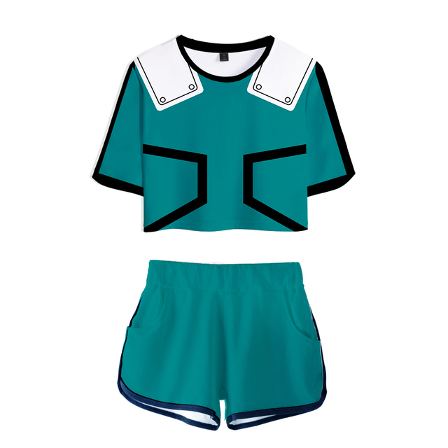 My Hero Academia Shorts and shirts combo