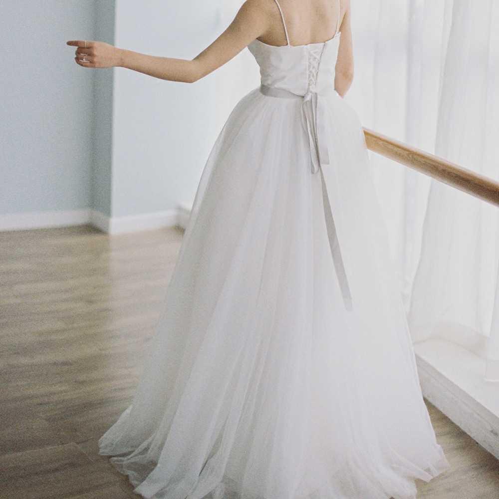 פשוט שמלת כלה 2019 תמונה אמיתית Weddingdress חוף Vestido דה Noiva שמלת חזרה תחרה עד פורמליות שמלת תחרת כלה שמלה