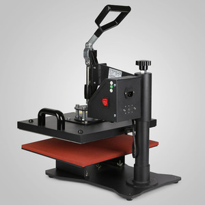 Image 5 - Máquina de pressão de calor vevor 5 em 1, camisetas, impressora de transferência para camiseta, caneca