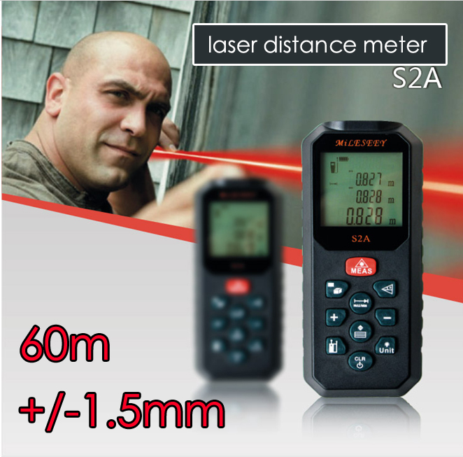 Digital Distance Measuring Instruments : Free shipping the laser distance meter measure