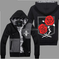 Anime Attack On Titan Cosplay Stationed Corps Rose Autum Winter Hoodie Fashion Hoodies Sweatshirts Coat Men