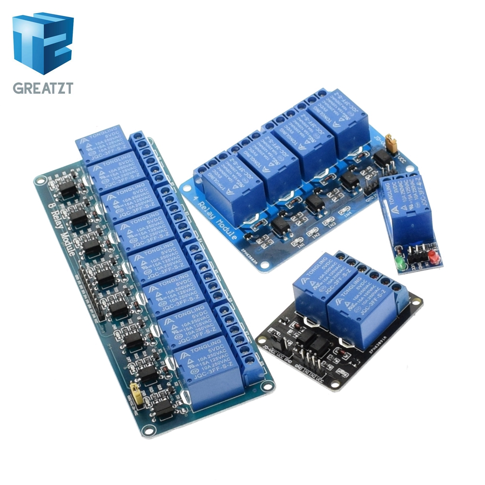 12V 1 Channel Relay Module With OPTO Isolation High Low Level Trigger ASS