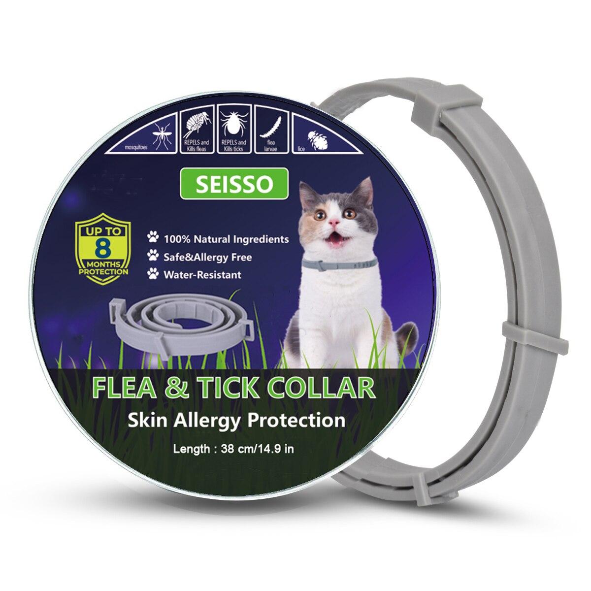 Dewel Pet Collar Anti Flea Outdoor Protective Collars 18 » Pets Impress