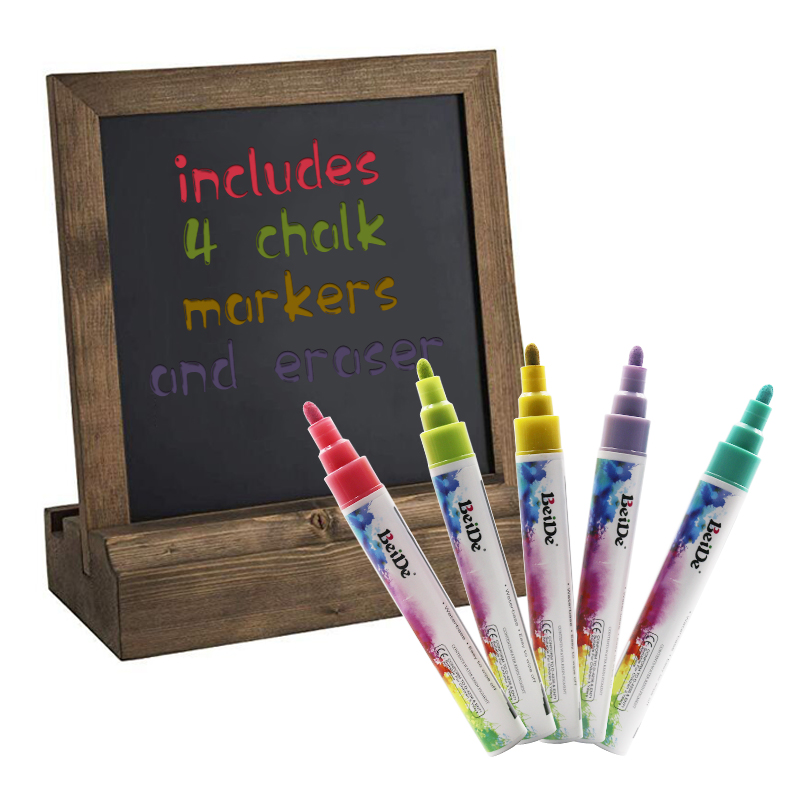 8 Colors 6mm Fluorescent Liquid Chalk Marker Pen For School Supply
