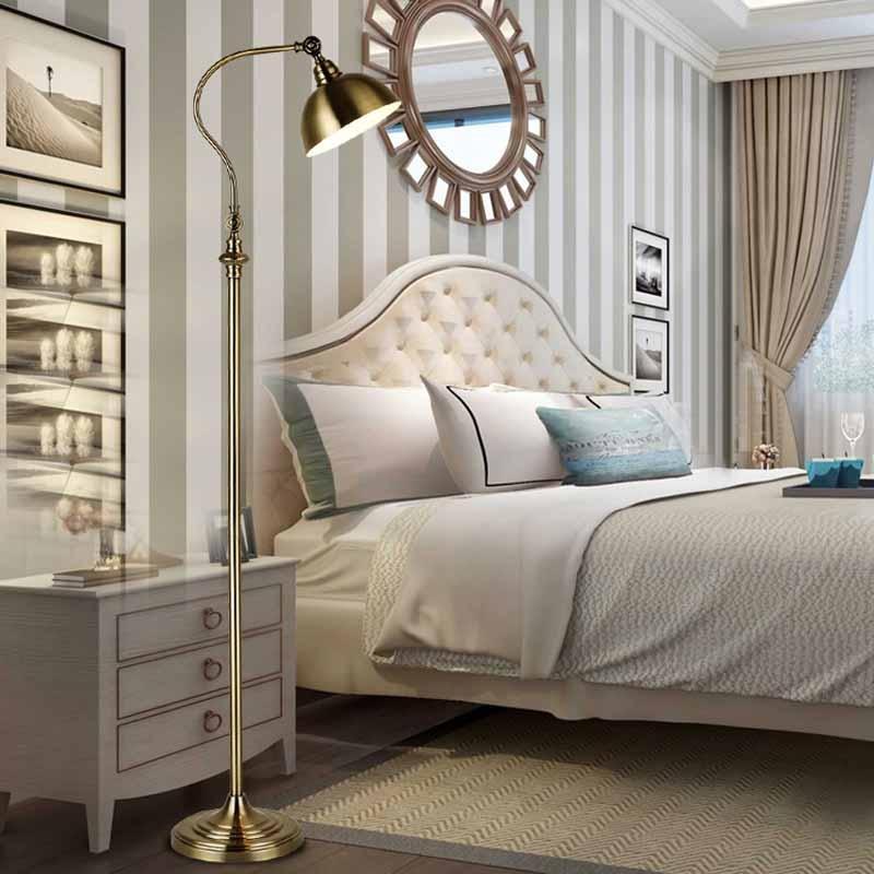Retro floor lamp bedroom standing lamp standing light for - Elegant floor lamps for living room ...
