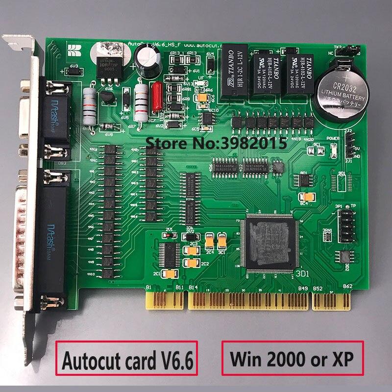Original WEDM Machine AUTOCUT Card V6.6 Control System With Permanent Code For CNC EDM Machine