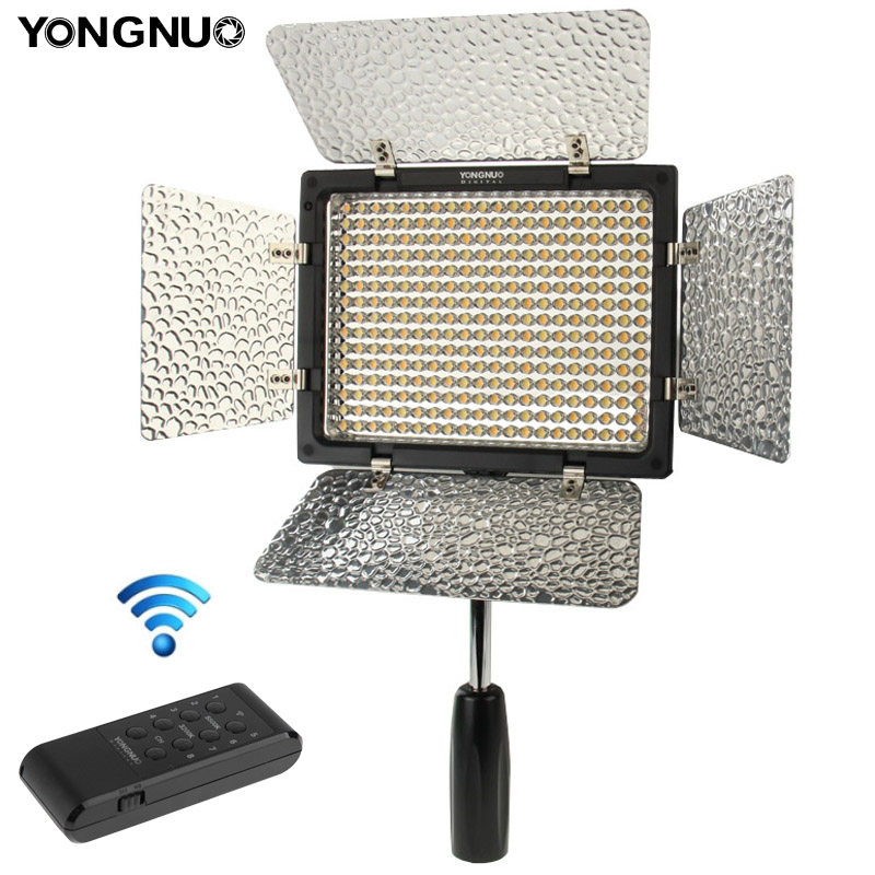 YONGNUO YN300 III LED Flash For Canon Nikon Pentax Olympas DLSR Camera Video Light Adjustable Color Temperature 3200K-5500K jjc 3 in 1 stacking grid light modifier system for canon yongnuo black