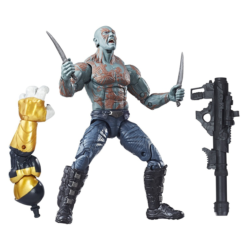 Original Garage Kit 6 Figurine Marvel Guardians of The Galaxy - Drax Toy Collectible Figure Doll Model Toy In Box ...