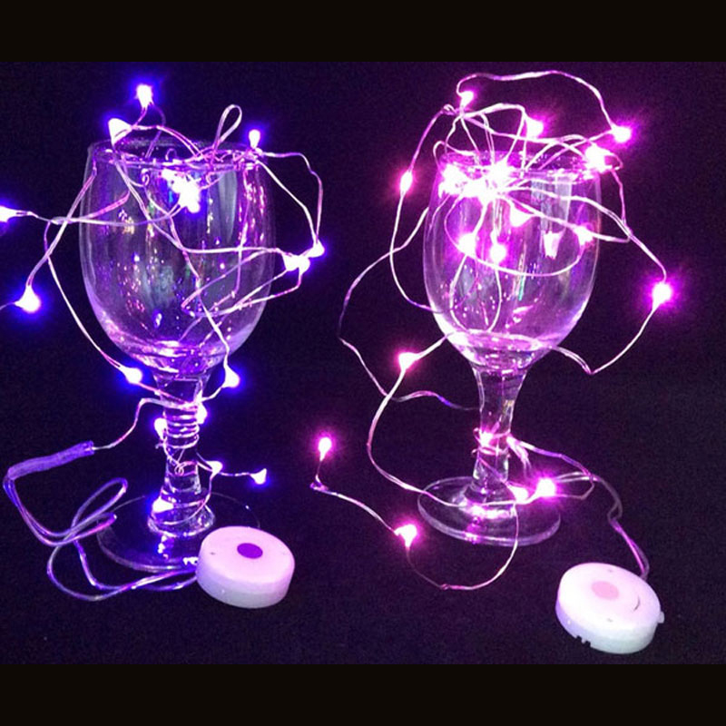 Event & Party Vacclo 2m 20 Led Strings Copper Wire Button Battery Operated Christmas Wedding Party Decoration Led String Fairy Lights Glow Party Supplies