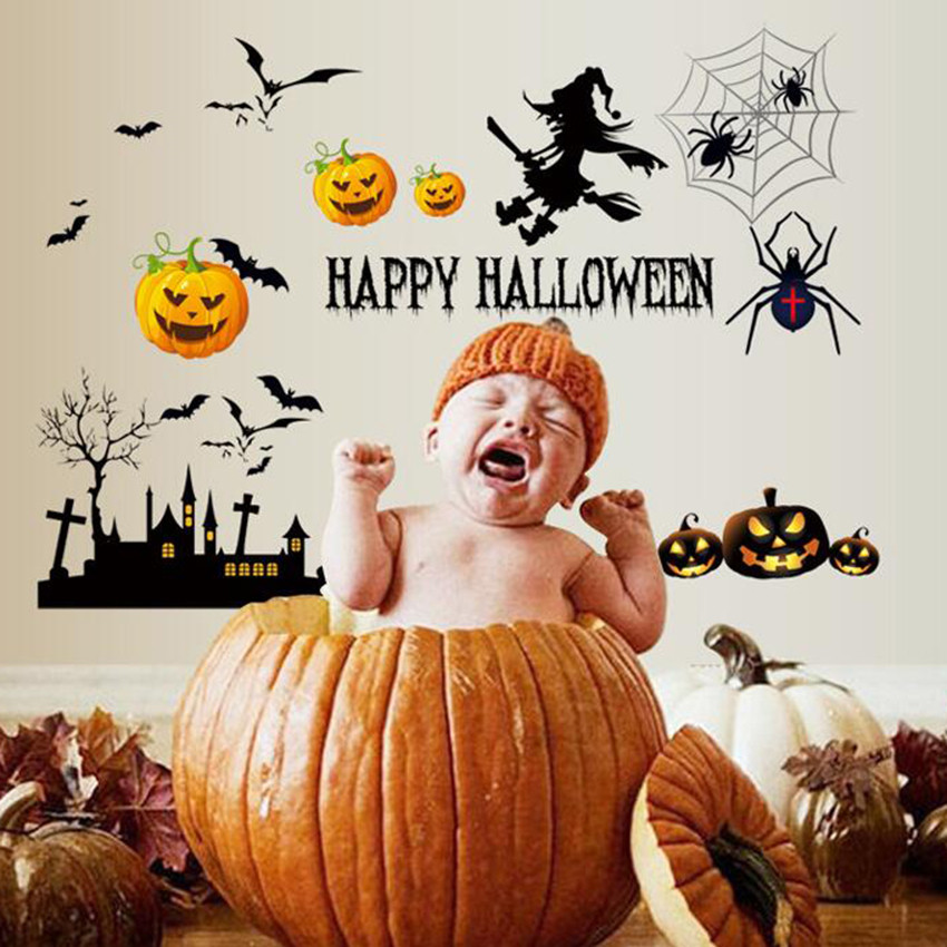 Classic Toys Halloween Decoration Decals for Home Children Scary Stikers Best Festive Gift