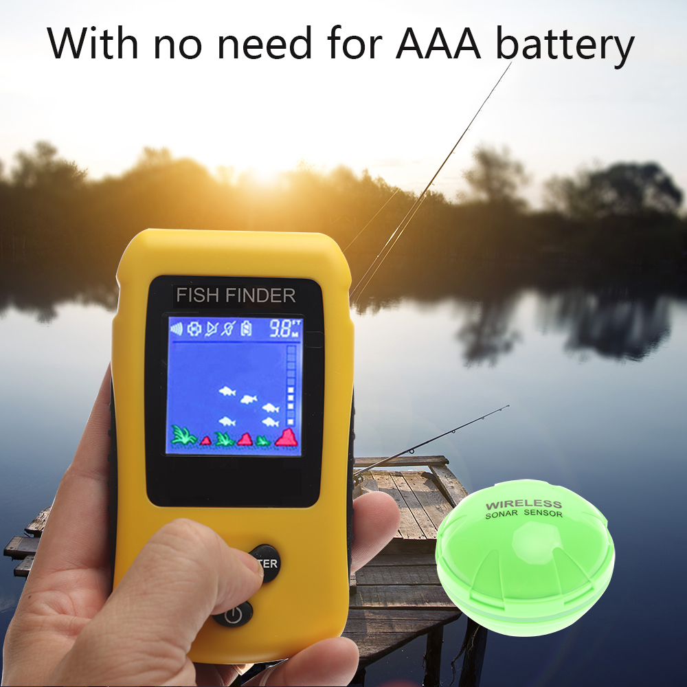 Free Shipping! Brand New KDR Colorful Wireless Fish Finder Sonar Sensor Transducer Depth Echo Sounder Recharged Battery  Free Shipping! Brand New KDR Colorful Wireless Fish Finder Sonar Sensor Transducer Depth Echo Sounder Recharged Battery