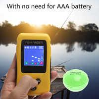 Freies Verschiffen! Marke Neue KDR Bunte Wireless Fisch Finder Sonar Sensor Transducer Tiefe Echolot Batterie Aufgeladen