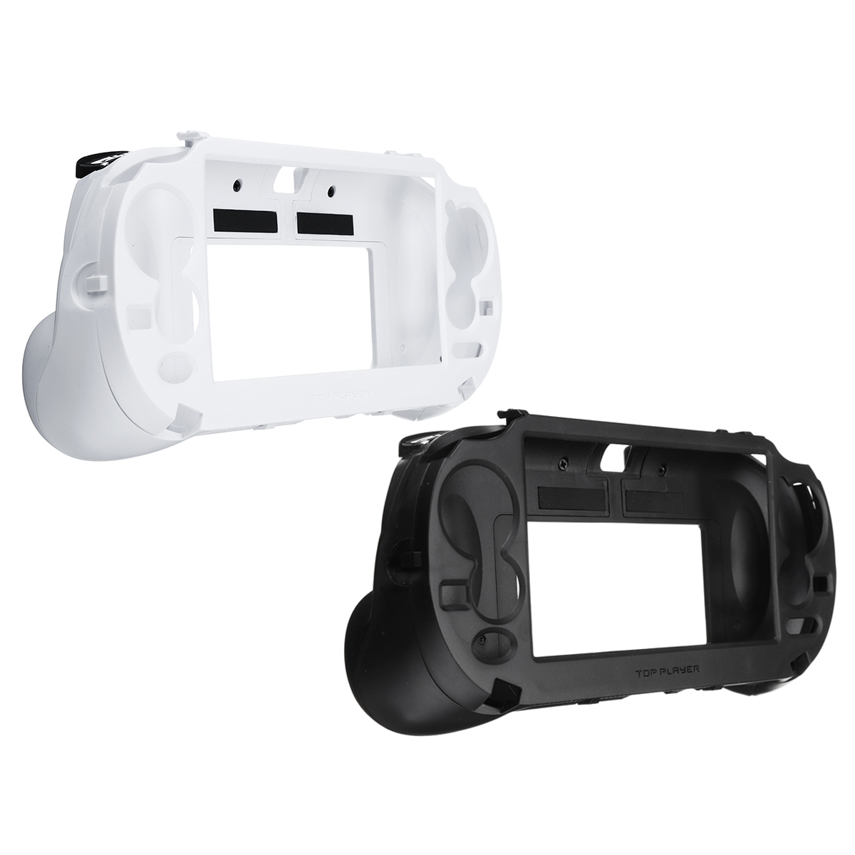US $21 94 41% OFF|New Upgrade L2 R2 Handle Grip Case Cover Protector  Trigger Holder for PS Vita 1000 Trigger Handle Holder Case-in Replacement  Parts &