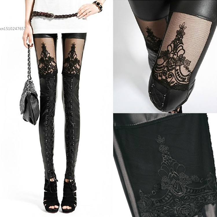 Popular Lace Bottom Leggings-Buy Cheap Lace Bottom Leggings lots ...