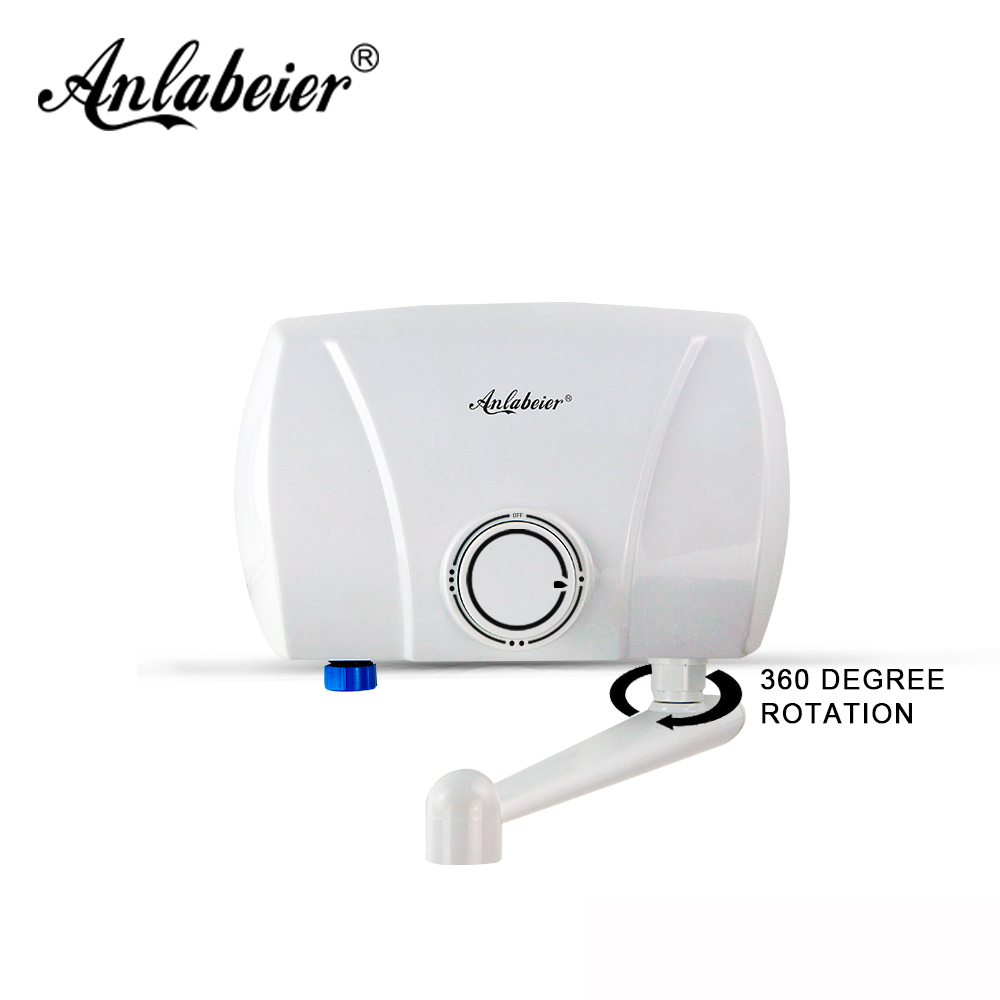 Anlabeier saving hand wash instant electric water heater for kitchenAnlabeier saving hand wash instant electric water heater for kitchen
