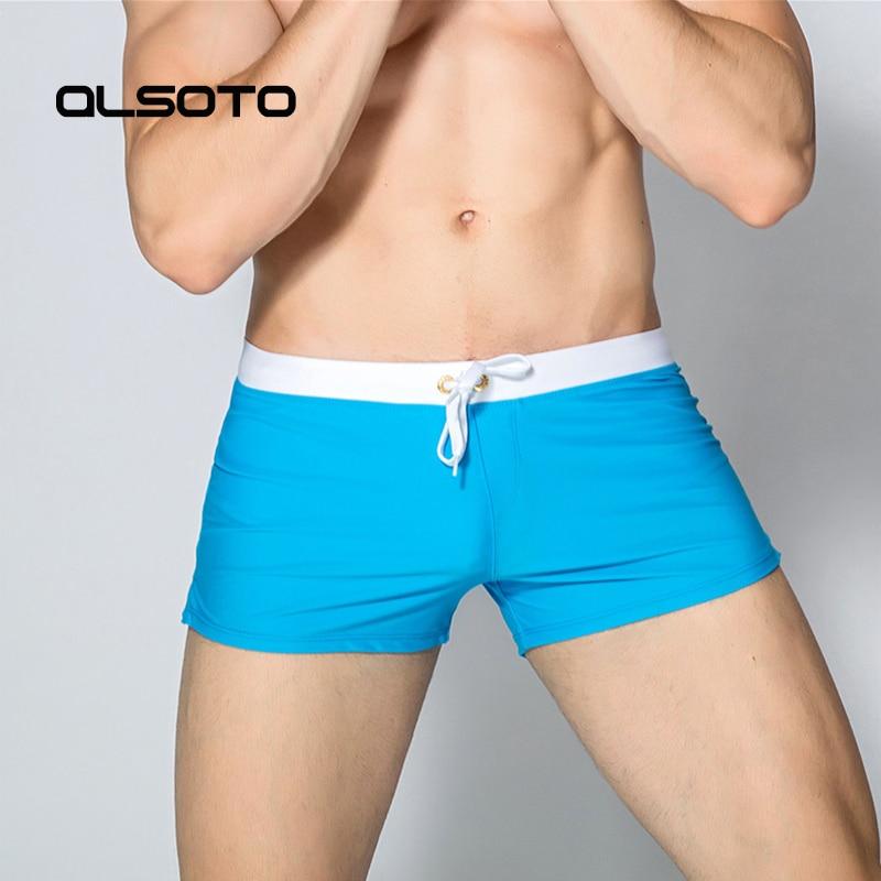 Nieuwe badmode mannen sexy badpak Man Zwembroek Boxer sport gay heren - Sportkleding en accessoires