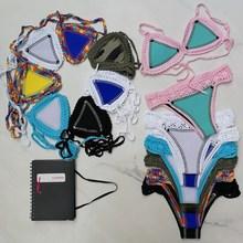 Women Bikini Triangle Crochet Neoprene