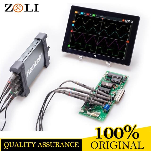 Best Price DHL FREE Hantek 6254BC PC USB Oscilloscope Hantek 6254BC 4CH 250MHz 1GSa/s waveform record and replay function ON SALE