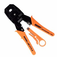 4P 6P 8P Network Pliers Networking Tools Portable Multifunctional Cable Wire Stripper Crimping Pliers Terminal Tool