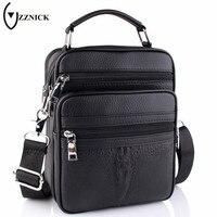 ZZNICK 2017 Genuine Leather Men Bag Small Shoulder Crossbody Bags Men Messenger Bags Men S Leather