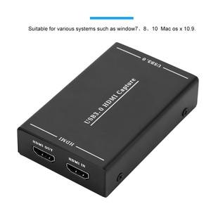 Image 5 - HDMI כדי USB 3.0 וידאו לכידת וידאו לכידת תיבת אחד כפתור הקלטת תיבת מקליט מתאם עבור windows 7 8 10 מהיר קירור