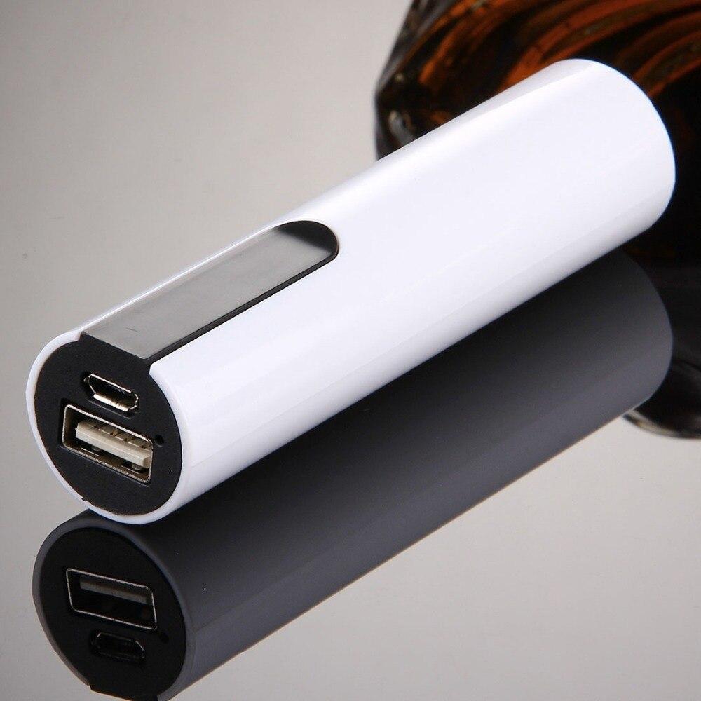 Portátil Solo 18650 Batería Caja de Cáscara Banco de Potencia con USB salida y e
