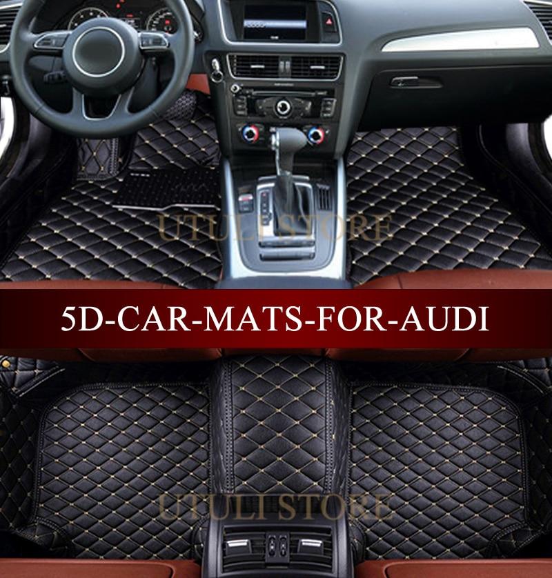 Aliexpress Com Leather Car Floor Mats For Audi A1 A3 A4 A6 A7 A8