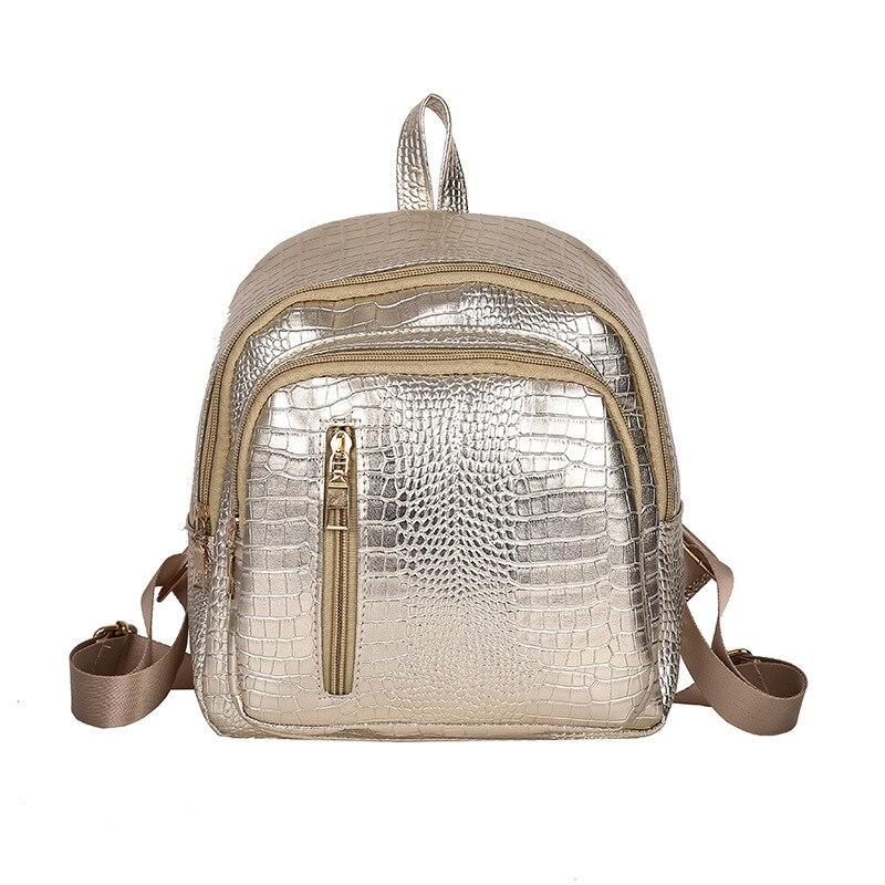 NPASON мода рюкзак женский из искусственной кожи Для женщин/девочек Traval Рюкзак Школьные сумки многофункциональный кожаный рюкзак косметичка