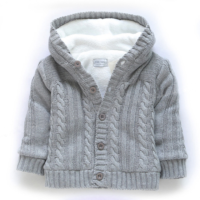 7afe55911 0 3Y) pullover enfant fille thick cotton Cable Knit Sweater Cardigan ...
