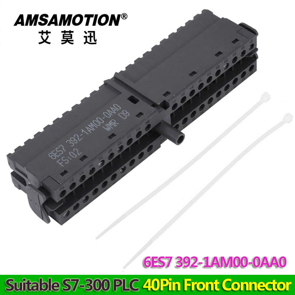 40pin Front Connector 6ES7 392 1AM00 0AA0 Suitable Siemens S7 300 PLC 6ES7392 1AM00 0AA0Connectors   -