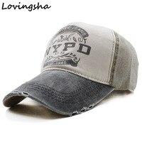 Lovingsha Wholesale Adult Baseball Cap Snapback Hat Spring Cotton Cap Hip Hop Fitted Cap Cheap Hats