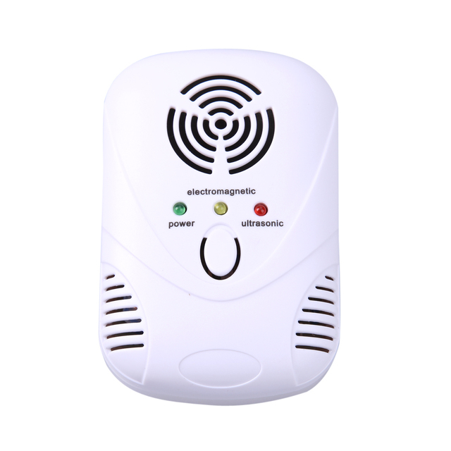 110-250V/50-60Hz 6W Electronic Ultrasonic Mouse Killer Mouse Cockroach Trap Mosquito Repellent
