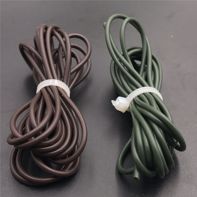 10M Carp fishing Lead System Rig Tube Silicone Rig Tube Anti Tangle Rig Tube silicone fishing line accessories terminal tackle