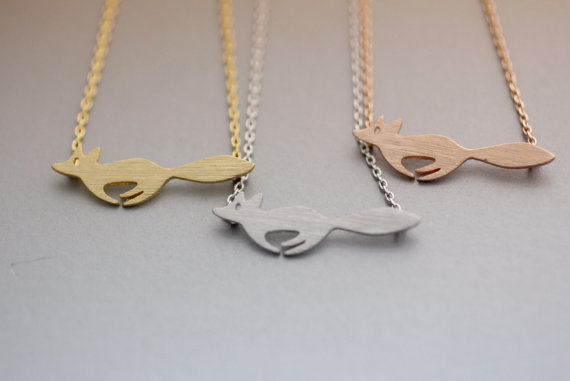 Newest Listing Jewelry Necklacefashion Casual Running Fox