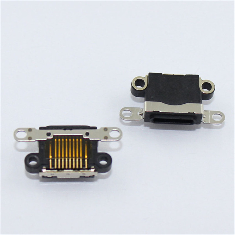 USB Charging Connector Socket Port Power Jack For Iphone 4 4S 5 5S SE 5C Mobile Phone USB Data Charger Ports