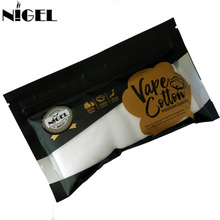 Nigel Vape Cotton Electronic Cigarette For Vaping RDA RBA Atomizer DIY E Cigs Accesorries Heat Wire Vaporizer