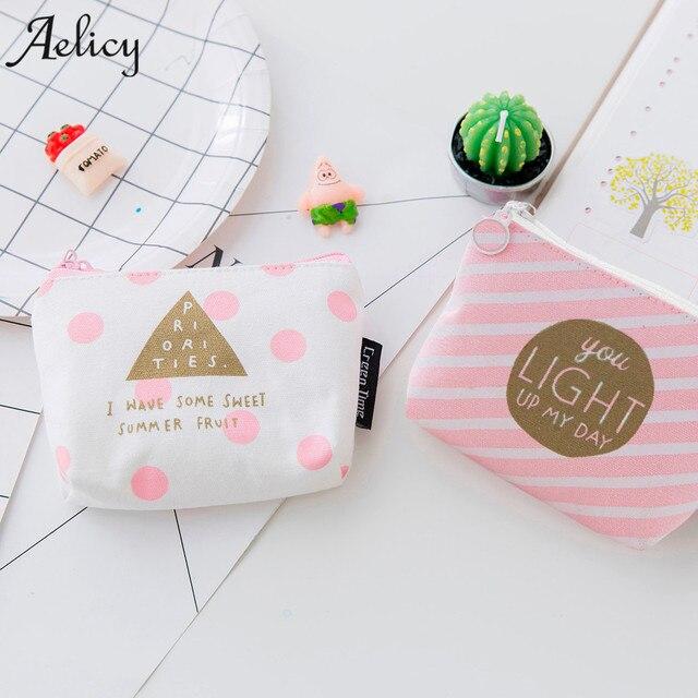 Aelicy 2019 New design @@@ Women Girls Cute Fashion Print Snacks Coin Purse Wallet Bag Change Pouch Key Holder Fashion Hot Sale