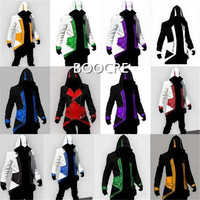 Assassin S Creed 3 Cosplay Doll Sleeve Red Black 12 Style Halloween Carnival Assassin Costume Dress