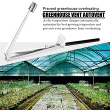 Greenhouse Automatic Window Opener Solar Powered Thermofor Vent Autovent Solar Heat Sensitive 45cm Greenhouses Roof Opening