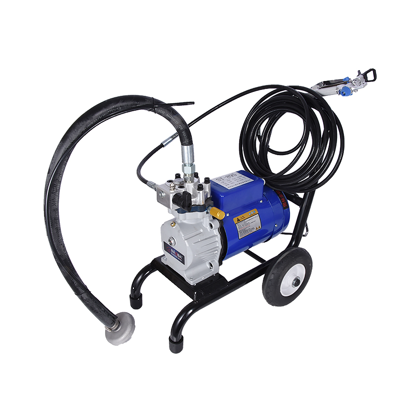 цена на 895 4L Airless Paint Sprayer Profressional Airless Spray Gun Painting Machine Electric paint spraying Sprayers 1800w 220V/50Hz