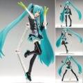 "Anime Hatsune Miku 1/8 Scale Action Figure Toy Presente Coleção 15 cm/6"""