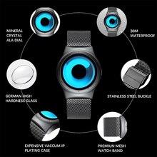 Top Luxury Casual Stainless Steel Mesh Waterproof Watch