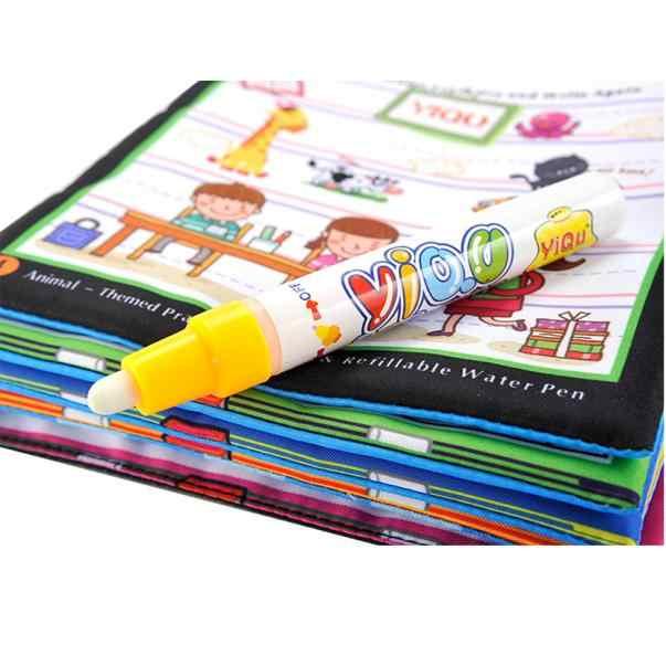 Acqua magica Disegno Libro Da Colorare Libro Libro di Doodle Magic Pen Animali Pittura Regalo del Giocattolo Dei Bambini Del Capretto Del Bambino di Trasporto di Goccia ye11.16