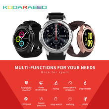 """L1 Smart watch Phone 1.3"""" Sports Smart Watch men Android iOS MTK2503 Heart Rate 2G Wifi Bluetooth Call Camera TF Card GPS"""
