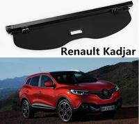 Alta qualit capa de carga tronco traseiro do carro escudo segurança sombra tela para renault kadjar 2016 2017 2018 acessórios do carro