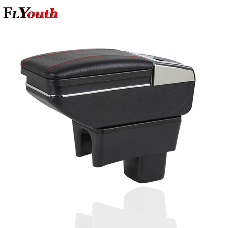 For Suzuki Swift 2005 2018 Car Armrest Box Central Store Content Box Cup Holder Ashtray Products