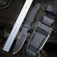 HX на открытом воздухе 58-60 HRC D2 лезвия для продвинутых игроков резиновые ручки охотничий нож с фиксированным клинком уличный кемпинг тактический ножи выживания hardn